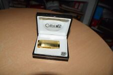Colibri Polished Gold Stainless Money Clip New In Box