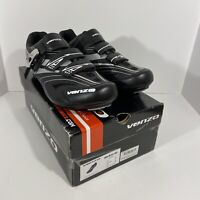 Venzo RX Men's Road Cycling Shoes Size 11 Compatible with Peloton Shimano SPD