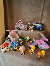Paw Patrol Figures & Vehicles Toy Lot Nick Jr. TOYS Spin Master