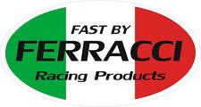 Fast by Ferracci Racing Muffler, Fairing, Helmet Decals, Ducati Superbike (2)