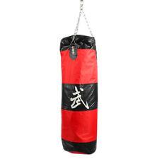 "39"" Heavy Hanging Punching Bag Kit Boxing MMA Training W/ Chain Hook"