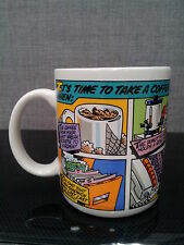 """It's Time To Take a Coffee Break When"" Tea Cocoa Mug Cup Glass 10-Oz"