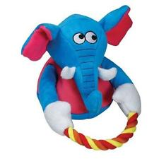 NEW Blue Elephant with Rope Tug Dog Toy Tender-Tuffs TearBlok by Smart Pet Love