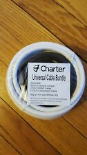 Universal Cable Bundle Kit HDMI Cable Component Cable Coaxial Jumper 6ft Each