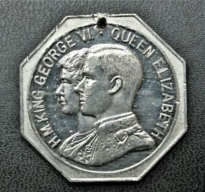 1937 Coronation Medal, Presented by the Halifax (NS) Herald, WM 35mm