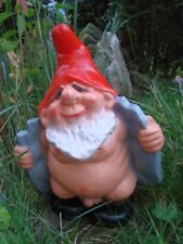 Gartenzwerg Exhibitionist aus bruchfestem PVC Zwerg Made in Germany Figur