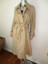 ESCADA Beige  Light Weight Wool Trench  Coat 38 8 M