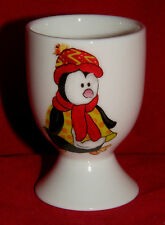 Stocking Filler China egg cup BN Personalised Robin Christmas egg cup