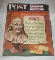 The Saturday Evening Post January 17 1948 Norman Rockwell Collectible Great Ads!