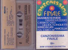 Canzonissima Finale Ranieri Nazzaro Caselli Cinquetti Mc Tape Cassette