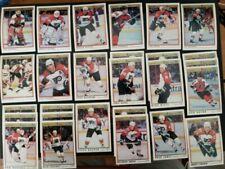 1990-91 & 91-92 O-Pee-Chee Premier Philadelphia Flyers Team Set 18+++ Ricci RC