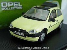 OPEL VAUXHALL CORSA MODEL CAR 1993-2000 1:43 SCALE YELLOW SWING IXO K8Q