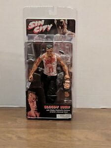 NECA Sin City Bloody Marv Mickey Rourke 2005 SDCC Exclusive New