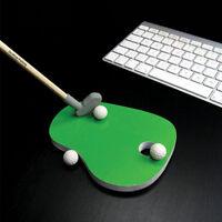 Desktop Golf Golfing Putting Stationery Set Pencils Erasers Office Desk Gift Set