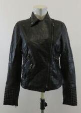 Autres vestes/blousons noirs en faux cuir pour femme