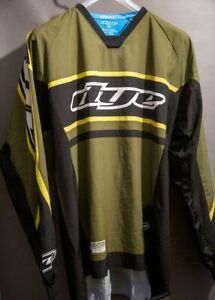Dye Throwback Jersey - Flow - Olive - PAINTBALL