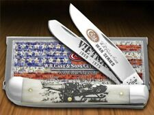 CASE XX War Series Vietnam Natural Bone Trapper Stainless Pocket Knives Knife