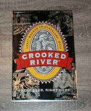 Crooked River Brewing Beer Sign Tin RARE