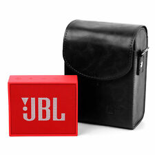 Vintage/Retro Box-Style Black Case PU Leather for JBL GO Portable Speaker