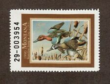MT5 - Montana State Duck Stamp. MNH. OG. Single #02 MT5
