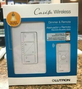 Lutron Caseta Wireless Smart Wall Light Dimmer Switch + Remote  (LOT OF 6)
