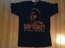 Bob Marley Soul Rebel T Shirt Jamaica Reggae Size L Large