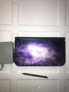Nintendo New 3DS XL Galaxy Game System Purple Used Handheld Console #A10