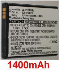 Batería 1400mAh tipo SCP-41LBPS SCP-42LBPS Para KYOCERA C5120
