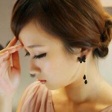Elegant 2015 Beautiful Butterfly Long Tassel Earrings Stud Dangle Gift Jewelry