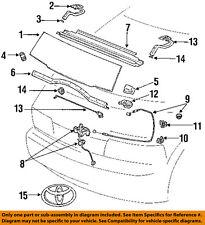 TOYOTA OEM 91-97 Previa Hood-Ornament 7533195D00