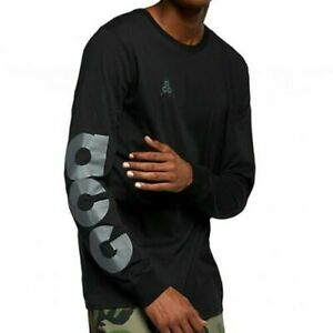 Mens Nike ACG Sportswear Long Sleeve T-Shirt  AQ3953-013 Black NEW Size L