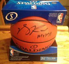 DERRICK ROSE Autographed Signed Official Spalding I/O BASKETBALL ROSE HOLOGRAM