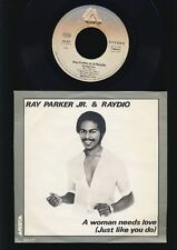 RAY PARKER JR. & radio-a woman needs love-aussi Into You - 7 inch vinyl Holland