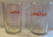 Anchor Hocking 5oz Small Glass Cooking Baking Liquid Measuring Cup  Set of 2