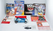 Transformers G1 Mirage 100% Complete + Extras Vintage Takara Japan 1980 - 1982