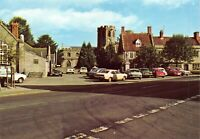 Vintage Somerset Postcard, The Square, Somerton 55N
