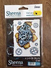 Sheena Douglas New Unmounted Stamp Set Cogs