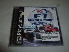 FACTORY SEALED PLAYSTATION PS1 GAME F1 CHAMPIONSHIP SEASON 2000 BRAND NEW NFS >>