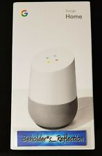 NEW SEALED Google Home - Smart Speaker & Google Assistant, Light Grey & White