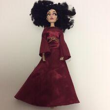 Disney Store Original Mother Gothel Doll Tangled Villian in Dress DAMAGED AS IS