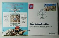More details for 50th anniversary of parachute regiment lt general sir michael gray signed cover