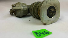 MIL SPEC 5 PIN MATING CONNECTOR BENDIX  CANNON MS3108E14S-5P 1074714-5S LOT:B46