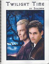 "Buffy the Vampire Slayer Fanzine ""Twilight Time""  Novel SLASH"