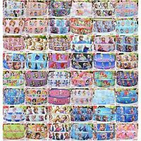 "5yards DISNEY PRINCESS FROZEN ELSA ANNA 9/22mm 3/8"" 7/8"" Grosgrain Ribbon Craft"
