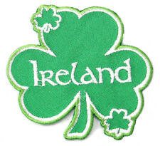 Ireland Shamrock Embroidered Patch