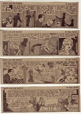 Boots and Her Buddies by Martin - 25 daily comic strips - Complete June 1952