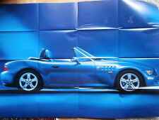 BMW Z3 Facelift Prospekt Poster E36/7 März 1999 NEU Brochure Catalogue