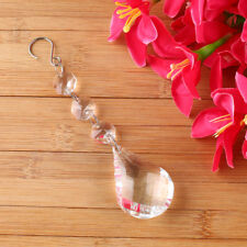Clear SunCatchers Hanging Crystals Transparent Prism Feng Shui Window Hangers