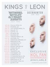 4 KINGS OF LEON TICKETS - SEAMLESS EXP. !! 7/29 MOHEGAN SUN CT DOWNLOADABLE