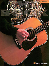CLASSIC COUNTRY EASY GUITAR SHEET MUSIC SONG BOOK NEW